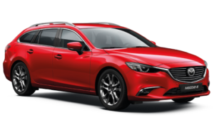 Mietwagen Mazda 6 Automatik - Autovermietung Teneriffa. Red Line Rent a Car Tenerife.